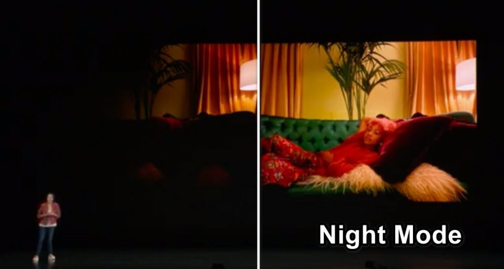 iphone 11 night mode feature