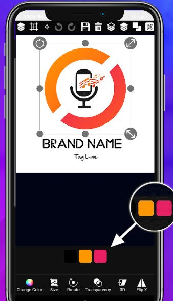 create logo free maker android