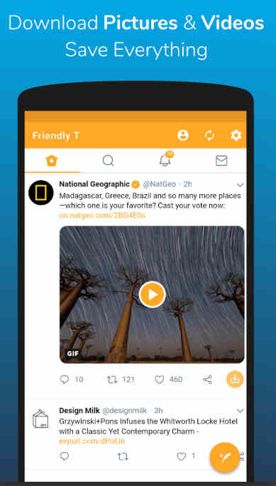 Friendly For Twitter Mod Apk download
