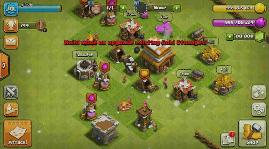clash of clans 100% Working mod