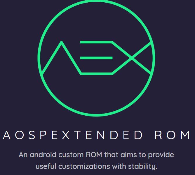 aosp extended custom rom