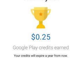 earn free google play credits