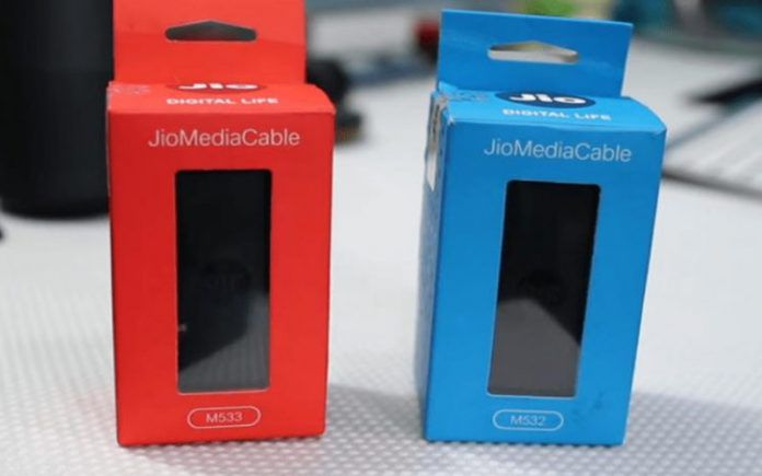 Jio Media Cable – Price, Launch Date, Availability 2021?