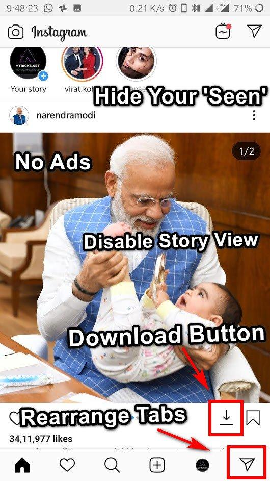 instagram mod app free download