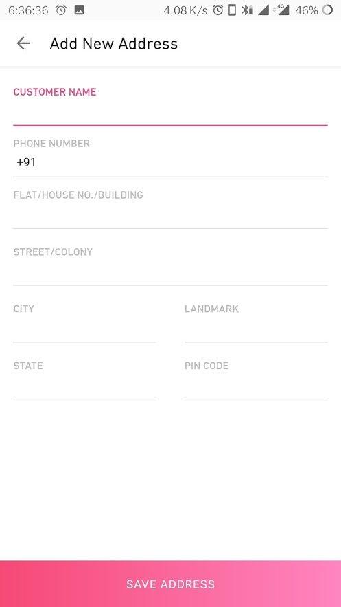 meesho reselling customer address