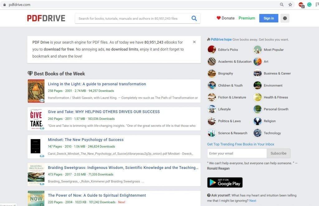 pdf drive ebooks free