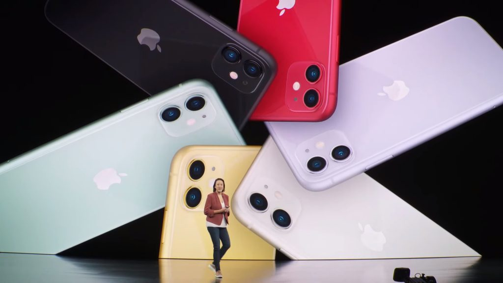 iphone 11 series color