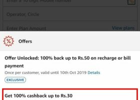 amazon pay recharge offer loot