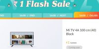 (Over) Mi Flash Diwali Sale – Buy Mi Smart TV 40 inch at ₹1