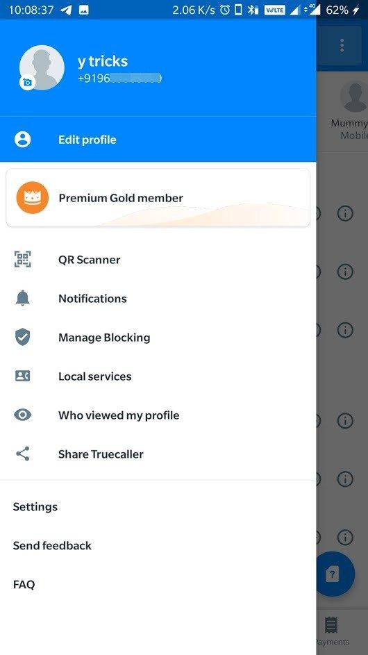 truecaller premium gold member apk mod