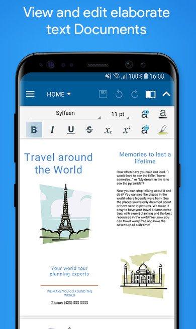 OfficeSuite Pro pdf apk