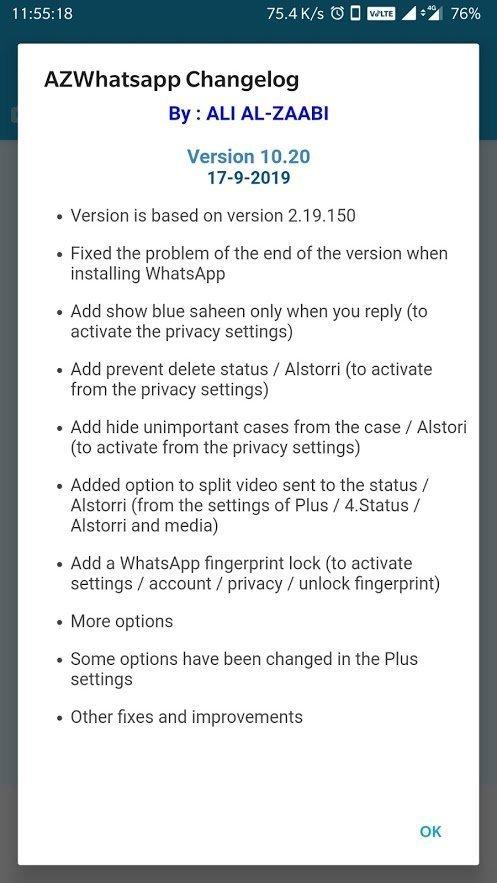 azwhatsapp apk latest version