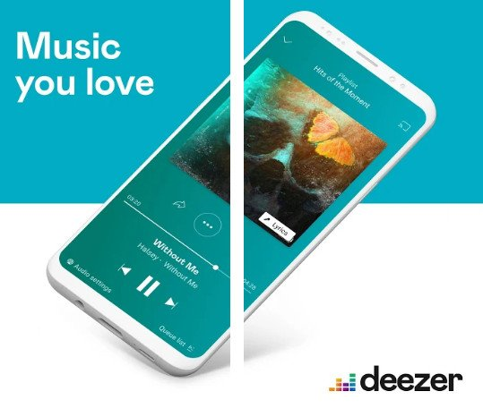 Deezer Music Player Premium mod