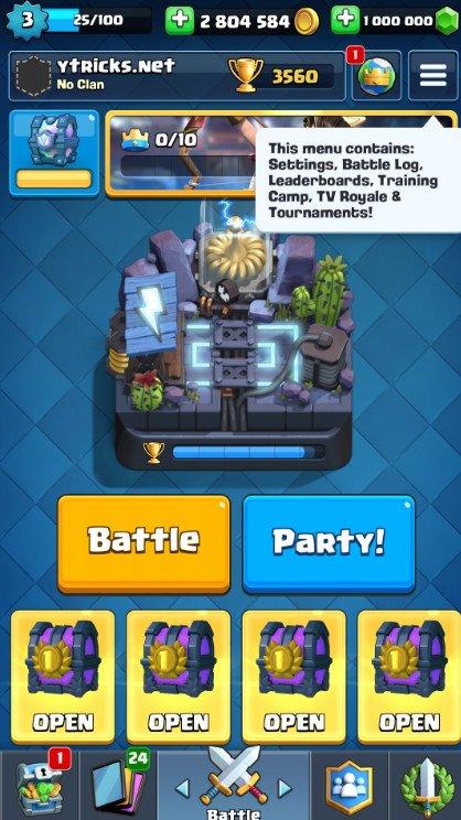 clash royale hack mod unlimited gems gold