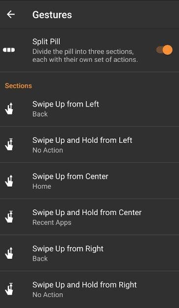 android 10 navigation gestures premium