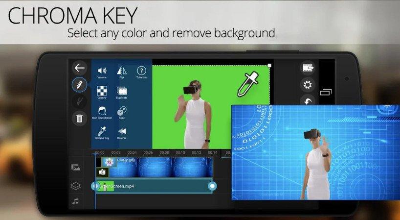 powerdirector pro mod chroma key