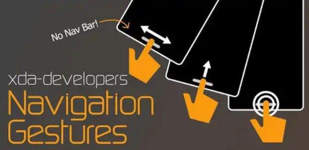 Navigation Gestures – Android 10 Like Side Gestures (Premium)