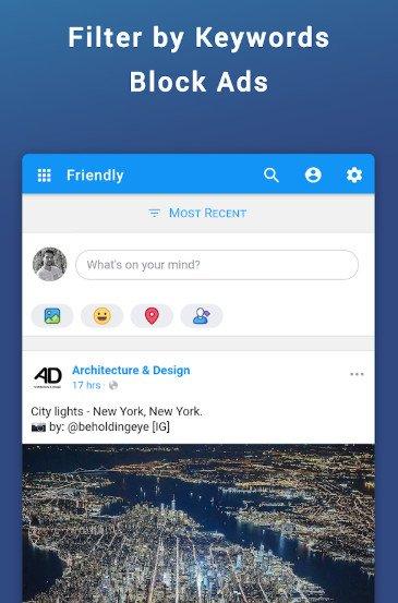 Friendly for Facebook mod apk no ads