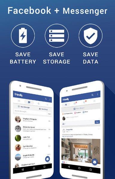 Friendly for Facebook premium mod apk