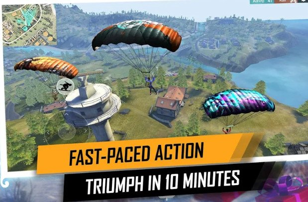 Garena Free Fire mod apk unlimited health
