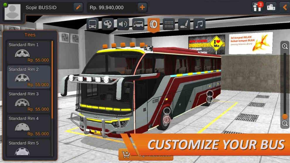 Bus Simulator Indonesia mod apk latest version