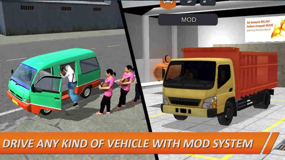 Bus Simulator Indonesia mod apk unlimited