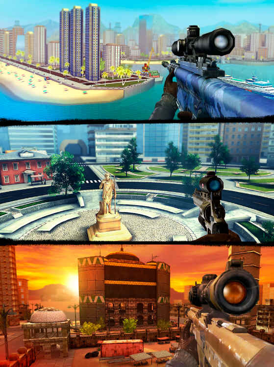 sniper 3d mod apk unlimited diamonds