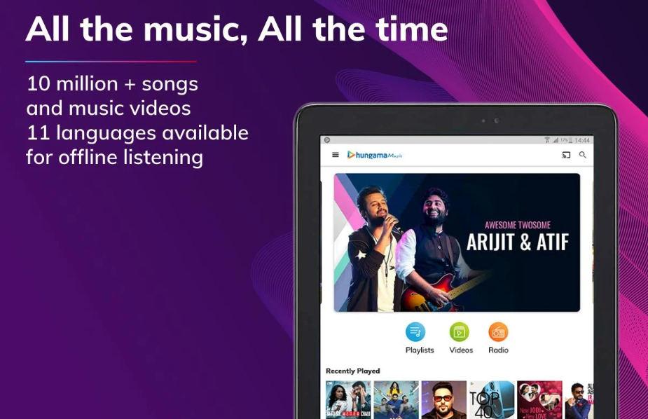 hungama music mod apk download