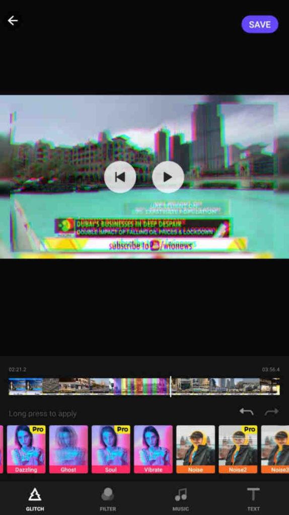 glitch video effects editor mod apk