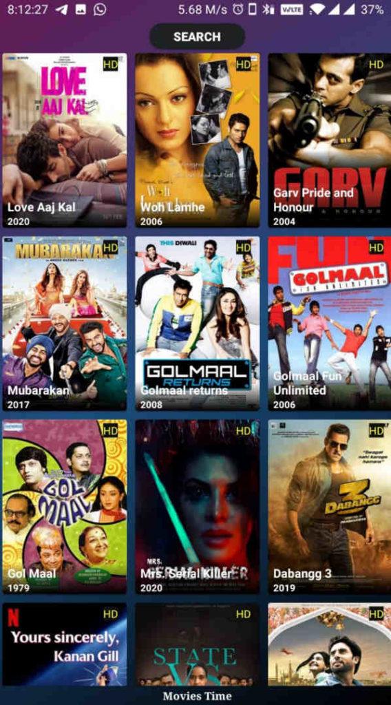 movies time apk ad free