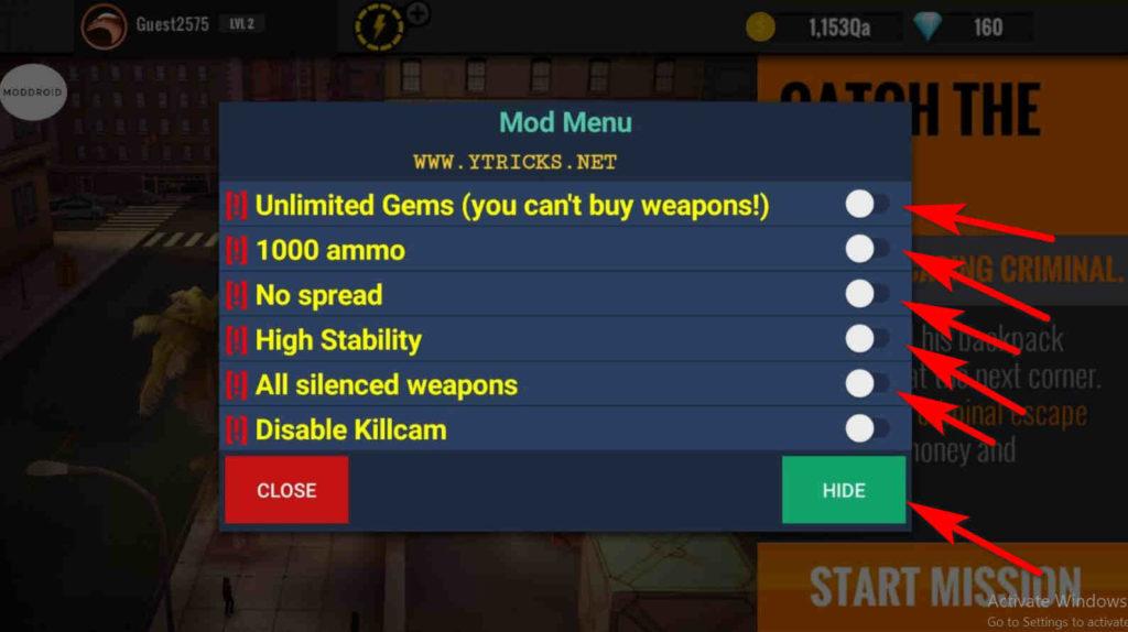 sniper 3d gun mod apk