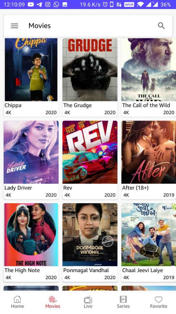 VidMax APK (Ad Free) – Watch Web Series & Movies