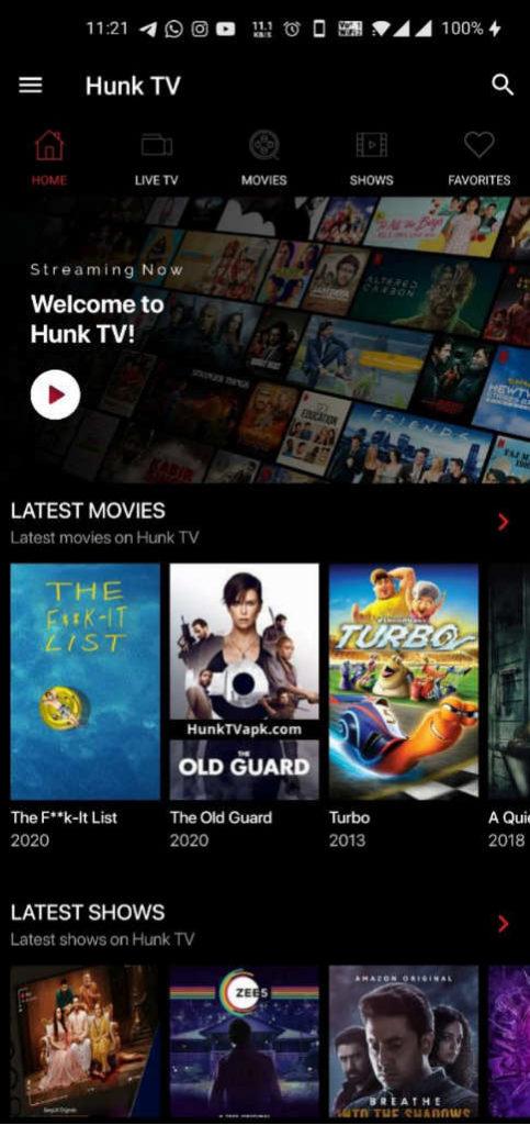 hunk tv apk download adfree
