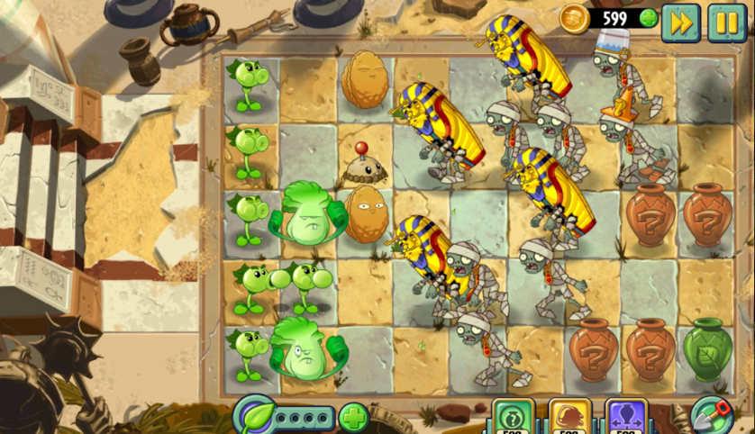 plants & zombies 1