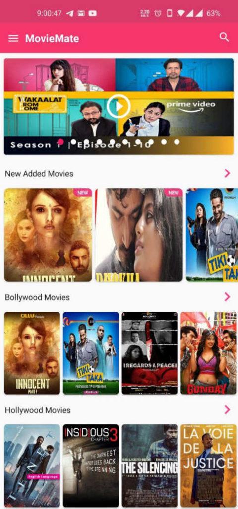 MovieMate premium mod apk