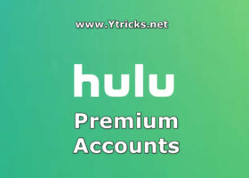 hulu premium accounts and passwords