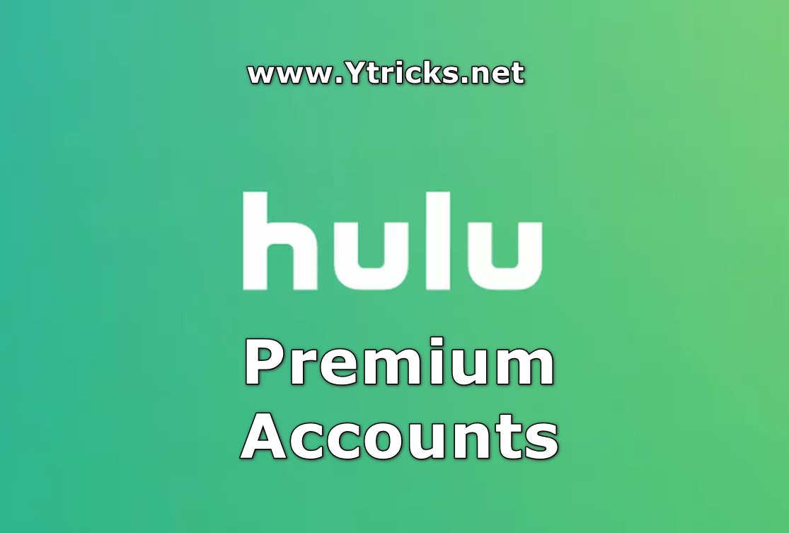 10000+ Hulu Premium Accounts Username & Passwords