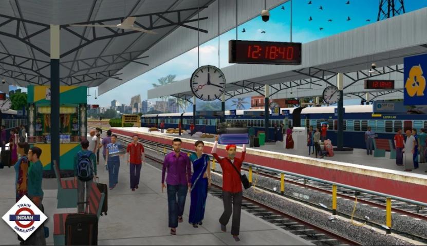 Indian Train Simulator apk 2021