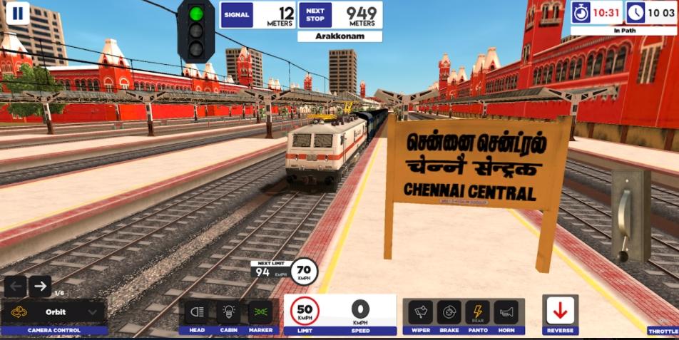 Indian Train Simulator mod apk 2021