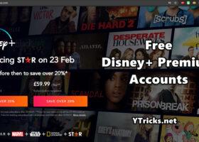 free disney+ premium accounts 2021