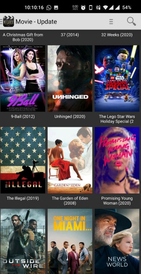 MegaBox HD APK (Mod, AdFree) – Watch Movies for Free