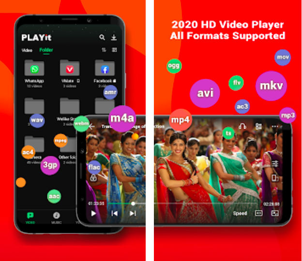 PLAYit – A New All-in-One Video Player (MOD, VIP Unlocked)