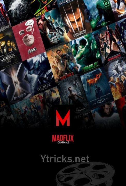 Madflix APK – Watch TV Shows, Series & Movies [MOD, AdFree]