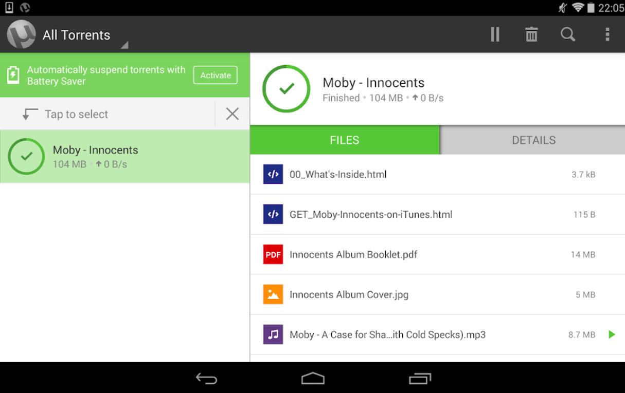 uTorrent pro mod apk