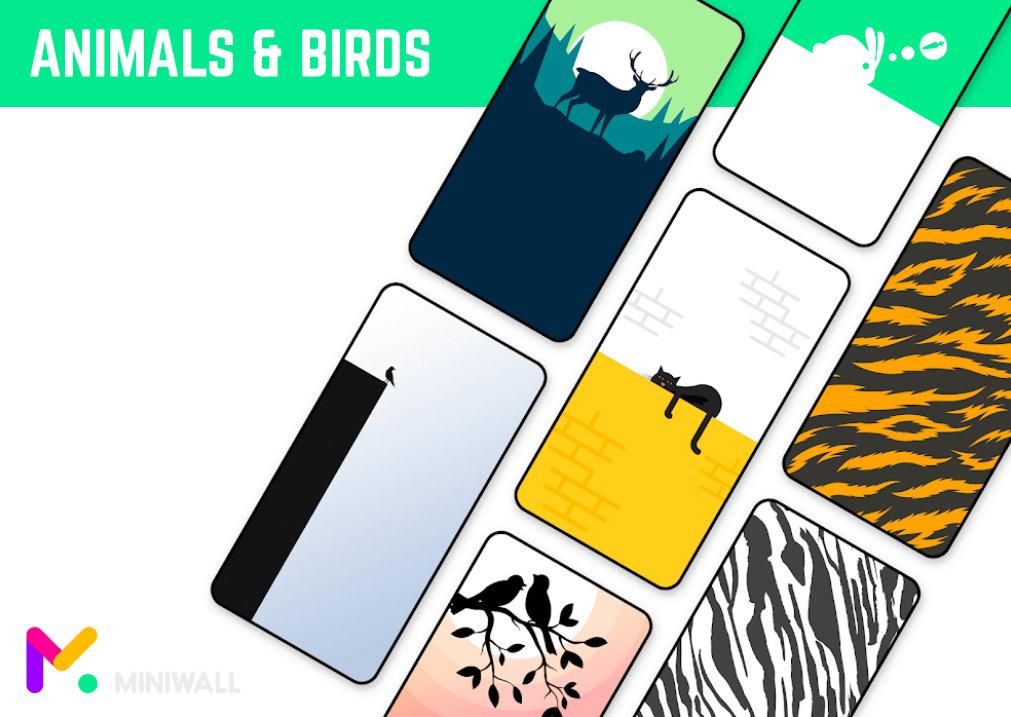 MiniWall Wallpapers animals